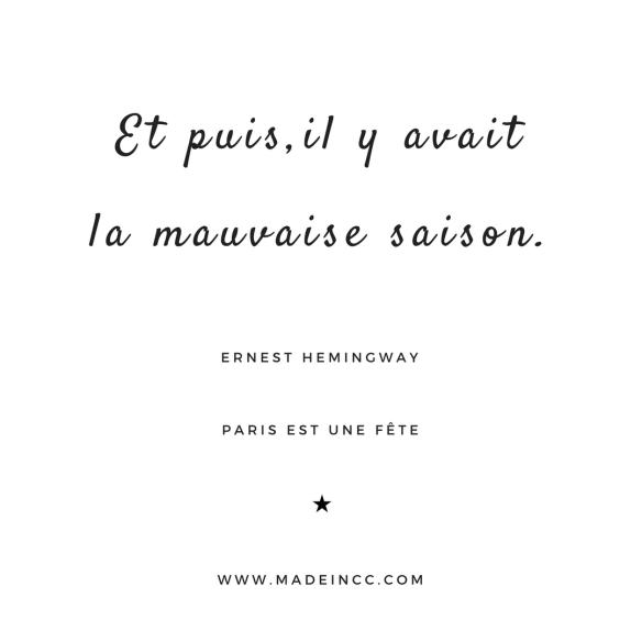 18 Citations De Paris Est Une Fête Ernest Hemingway Made